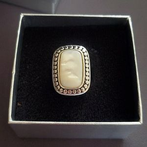 MOTHER OF PEARL RING by Premier Designs